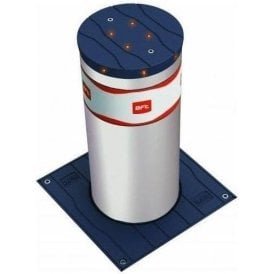STOPPY 700 MBB 700 x 220 Electromechanical Automatic Bollard in stainless-steel c/w LED light crown