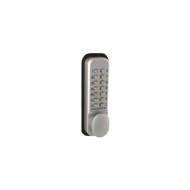 Borg Locks BL2002 Thumbturn. keypad, inside paddle handle, 28mm Ali Latch