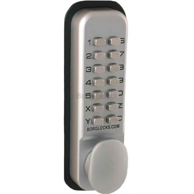 Borg Locks BL2021 Thumbturn, Keypad, inside paddle handle, optional holdback, 60mm latch
