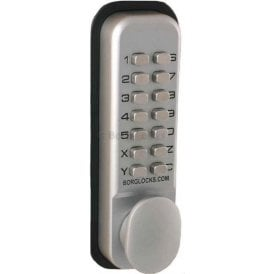 BL2021 Thumbturn, Keypad, inside paddle handle, optional holdback, 60mm latch