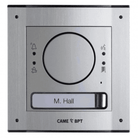 MTMFGSM1 - Flush Mounted 1 button GSM intercom kit