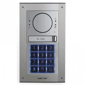 MTMFKGSM1 - Flush mount 1 button intercom kit with keypad