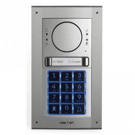 MTMFKGSM2D - Flush mount 2 button GSM intercom kit with keypad