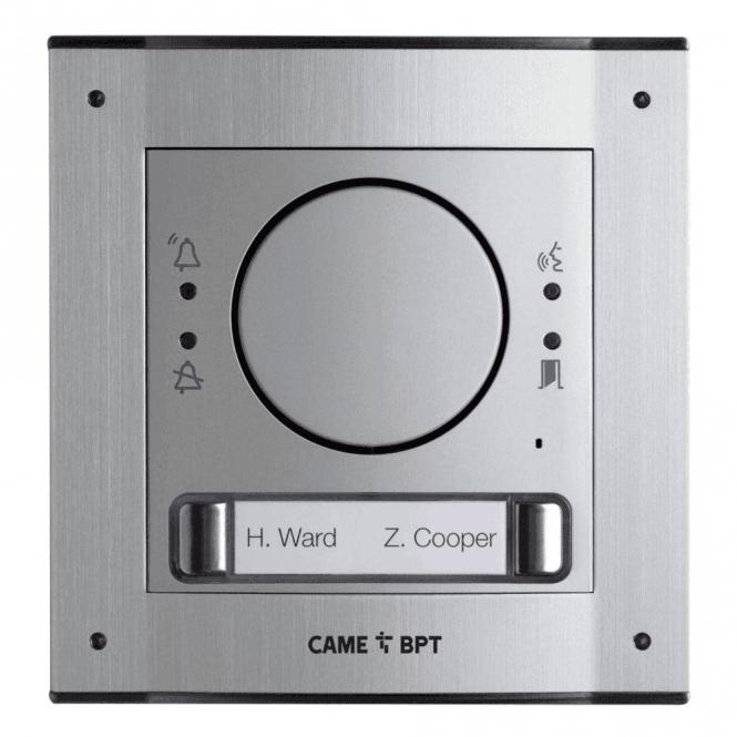 BPT UK MTMSGSM2D Flush mount 2 button GSM intercom kit
