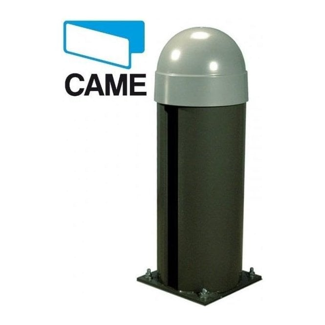 CAME CAT-X24 24v Bollard with operator featuring an on-board control panel