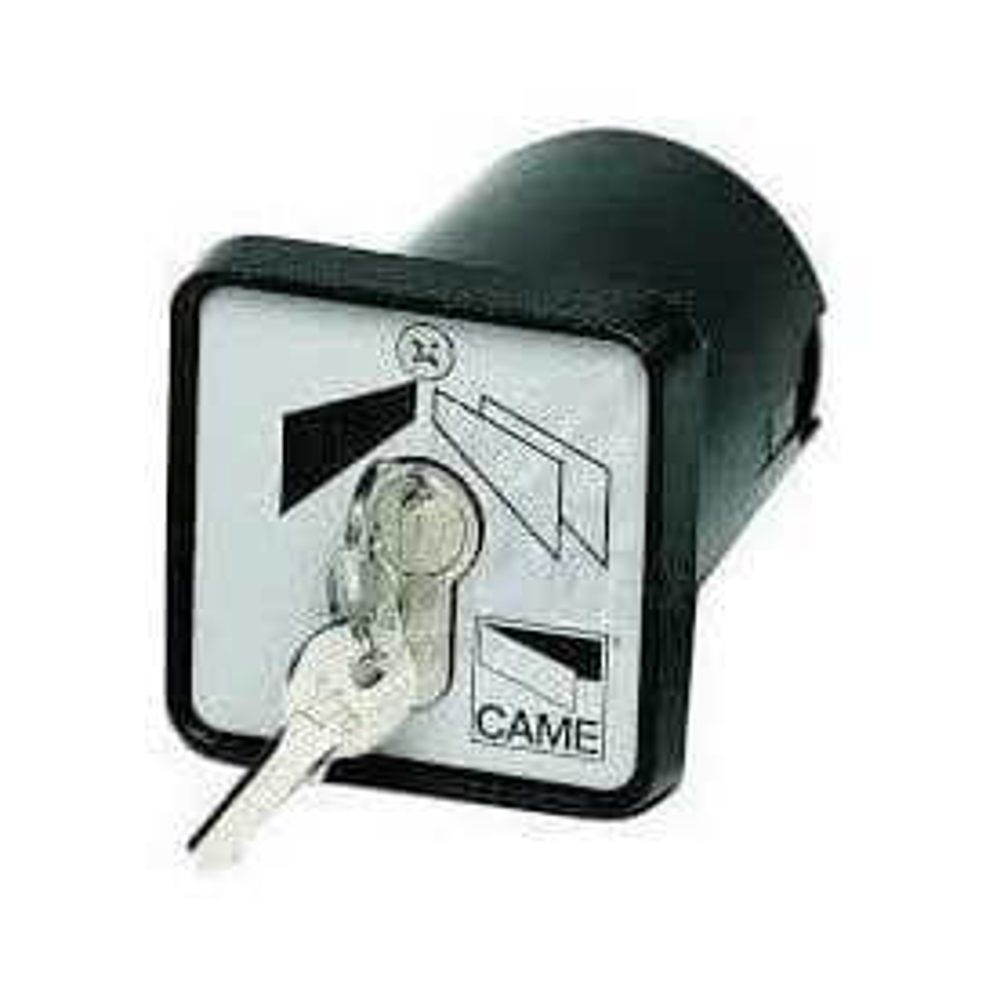 flush mounted key