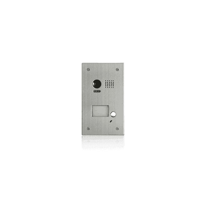 CDVI 1 Button Flush Stainless Steel Door Panel