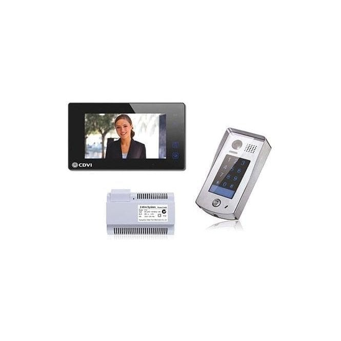 CDVI 1 Way Entry Kit with Keypad - Available in Black or White