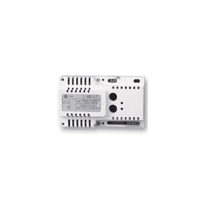 CDVI 12Vdc, 1.0A PSU with Integral Relay and Timer