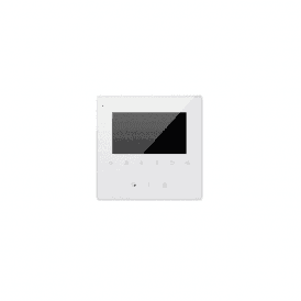 "4.3"" Colour LCD Monitor, Touch Sensitive, White"