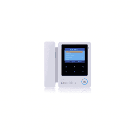 "4"" TFT Colour Monitor with Handset, White"