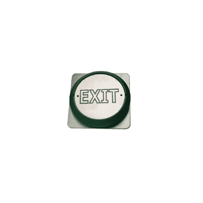 "CDVI All-Active Switch - ""Exit"" Flush"