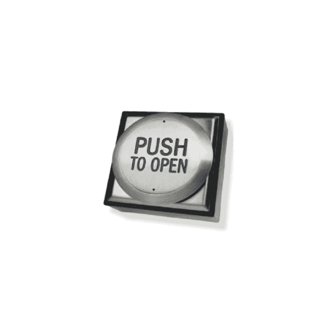 """CDVI All-Active Switch - """"Push to Open"""", Surface"""