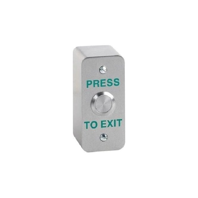 CDVI Architrave Stainless Exit Button, Surface