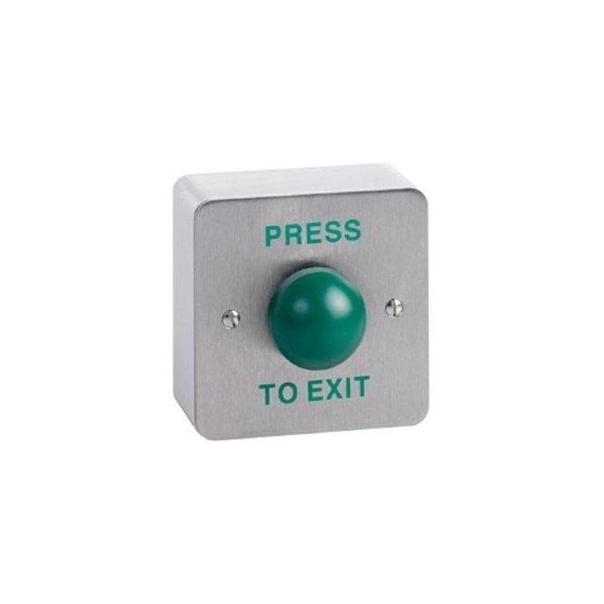 CDVI Domed Stainless Exit Button, Surface