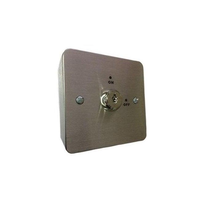 CDVI Flush Keyswitch, Maintained, Keyed Alike