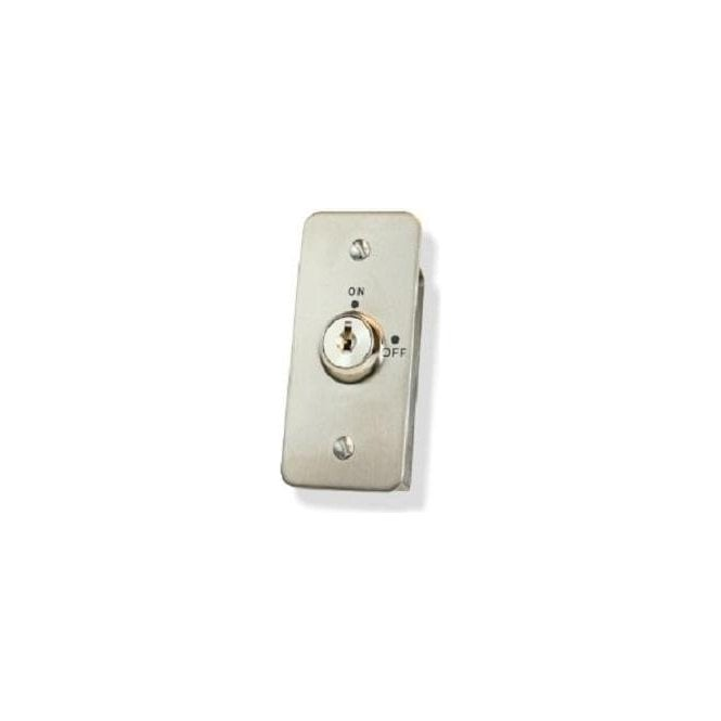 CDVI Flush Narrow Keyswitch, Maintained, Keyed Alike