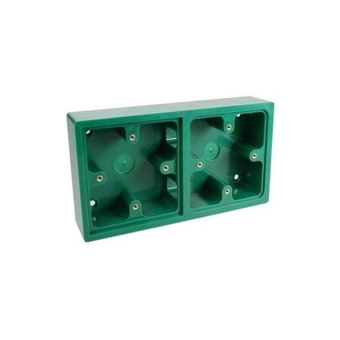 CDVI Green Double Back Box