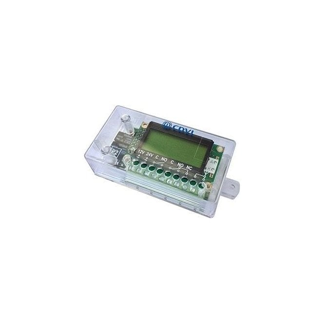 CDVI Receiver, 2 Relays, LCD Display with Rolling Code