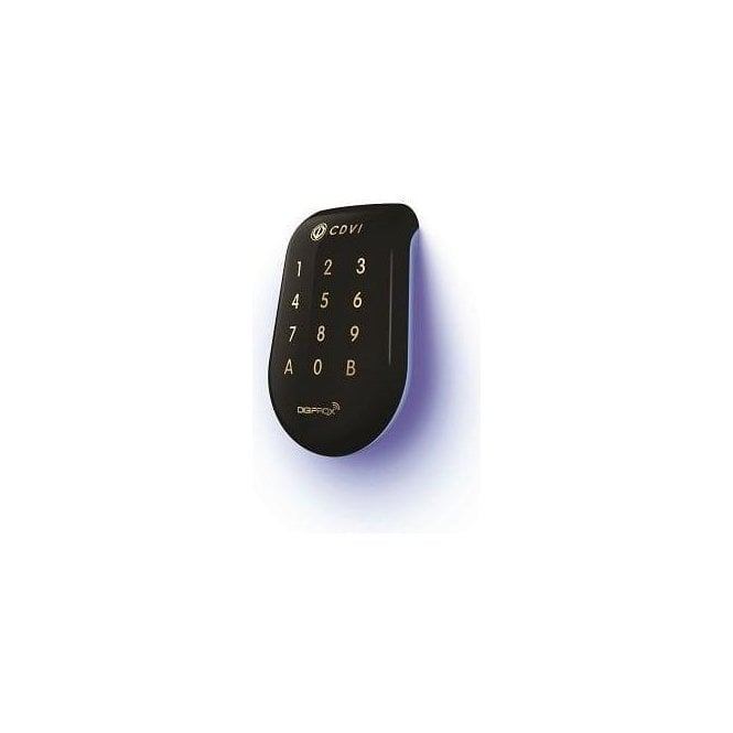 CDVI Solar Combined Proximity Reader and keypad - Black