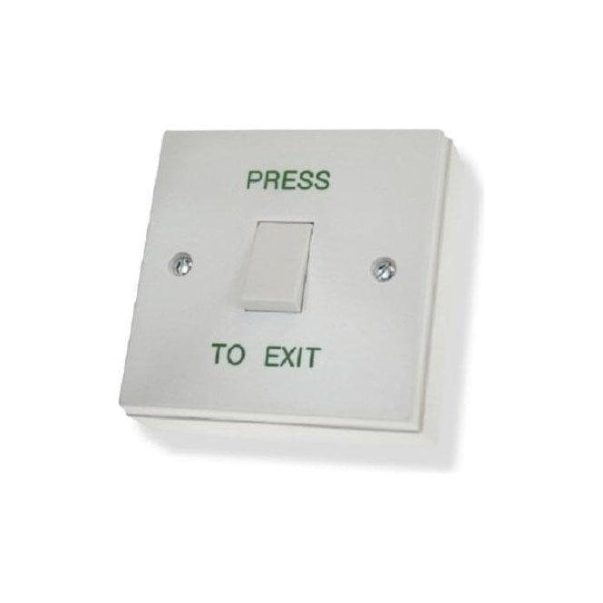 CDVI Standard Plastic Exit Button, Flush