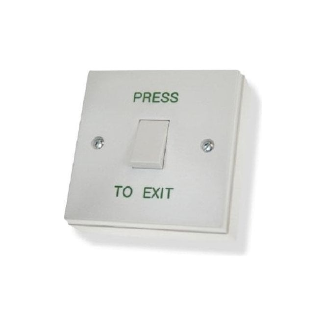 CDVI Standard Plastic Exit Button, Surface