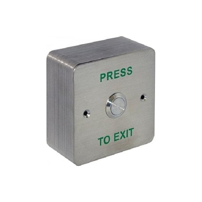 CDVI Standard Stainless Exit Button, Surface