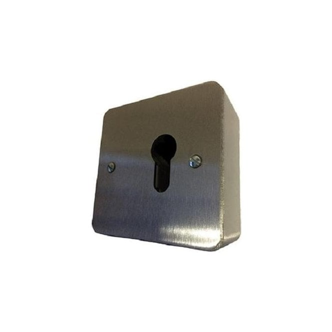 CDVI Surface Euro Keyswitch, Momentary, No Cylinder