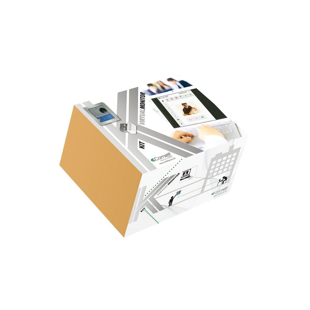 comelit 8501 ip intercom kit comelit from arden gates ltd uk. Black Bedroom Furniture Sets. Home Design Ideas