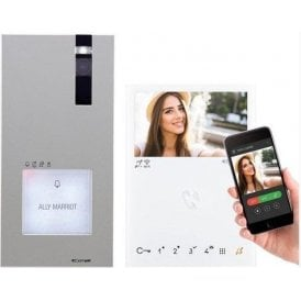 Comelit 8561V Quadra ViP 1 Family kit with WIFI App