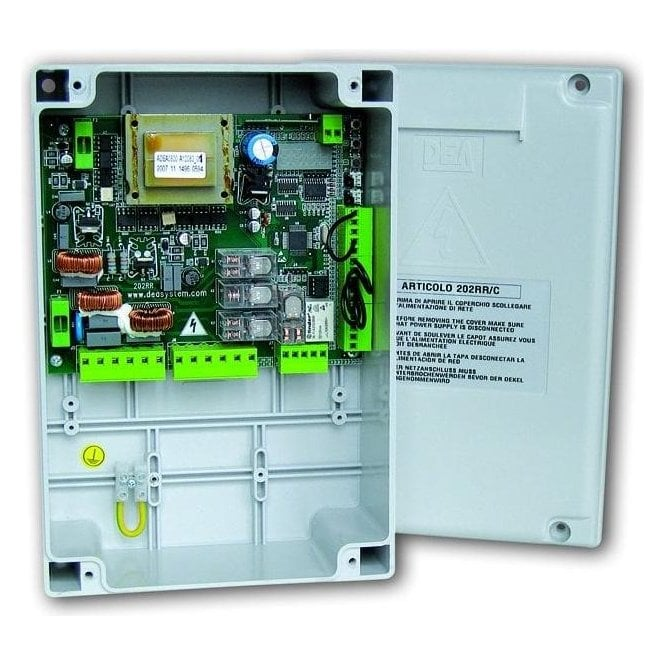 DEA 202RR/C Digital control panel 230v with enclosure