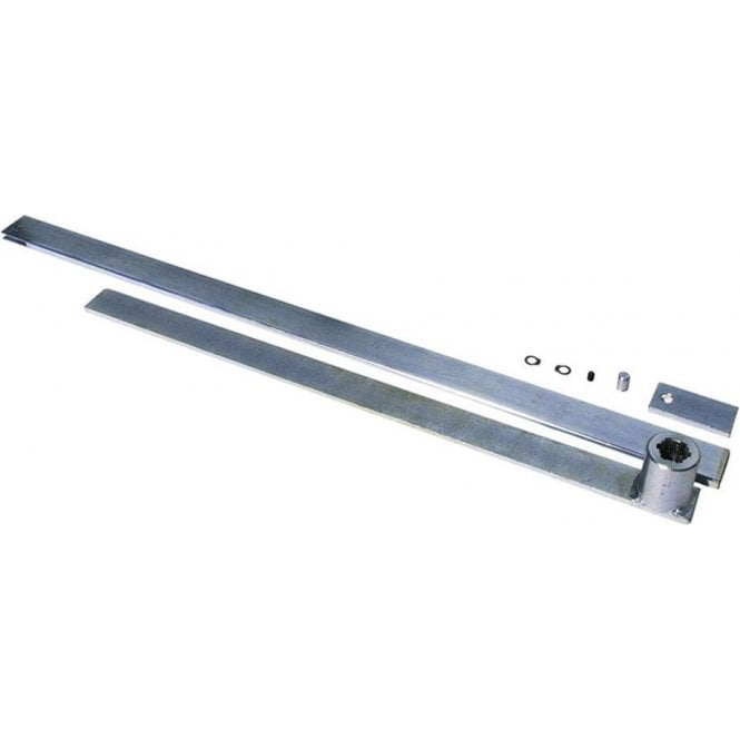 DEA Galvanised Steel Telescopic Arm with 50mm Splined Bushing