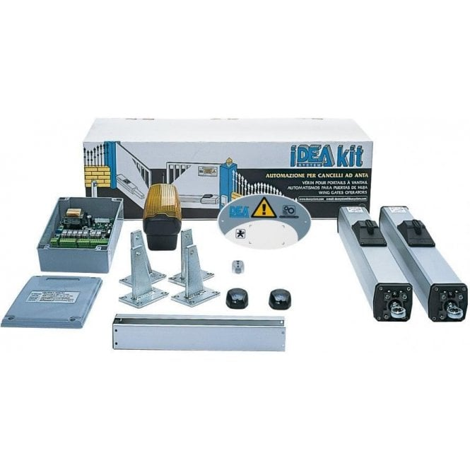 DEA OLI 602 Kit, Self locking in closed position only, for leafs up to 2m