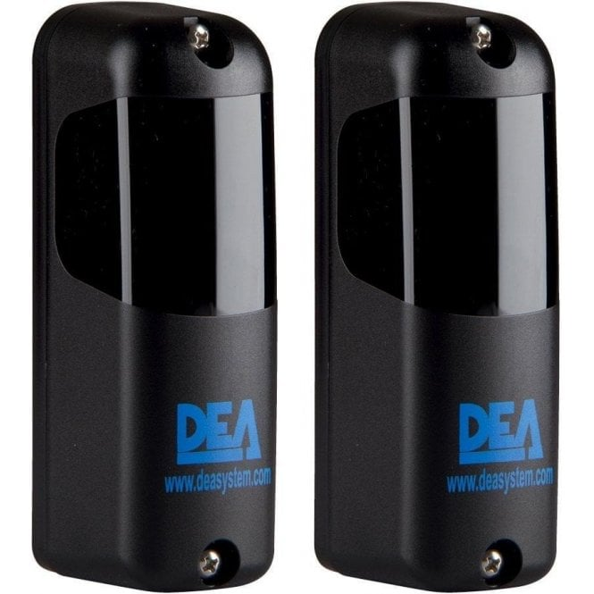 DEA Pair of Linear XS Mini Photocells for Outdoor Installation