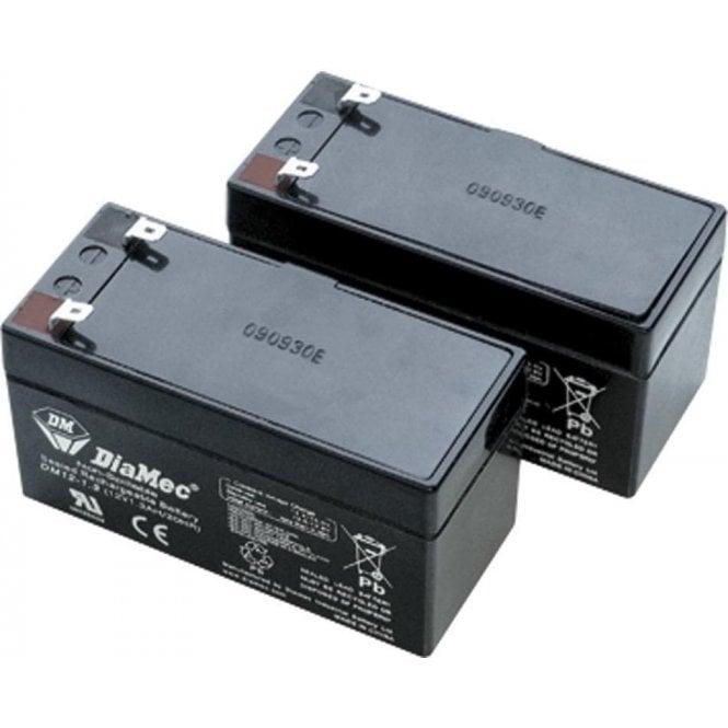 DEA Rechargeable Batteries Kit for LIVI/N 24V Operators