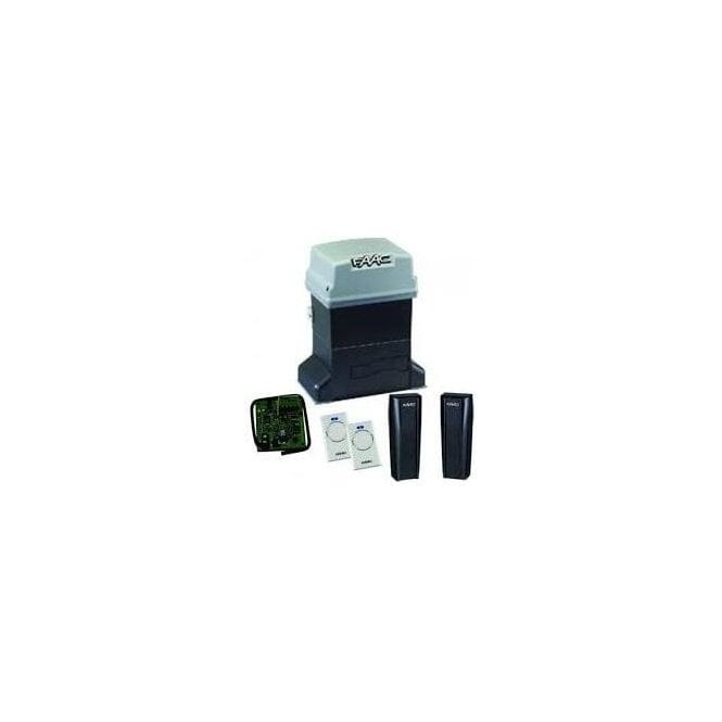 FAAC 746 UK Gearmotor sliding gate kit with built in control panel