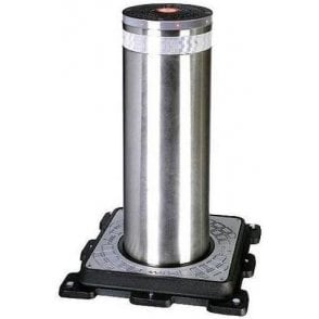 J series semi automatic 275/800 stainless steel bollard