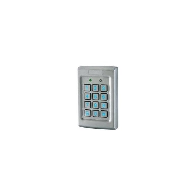 Wired keypad stainless 12-24v IP55