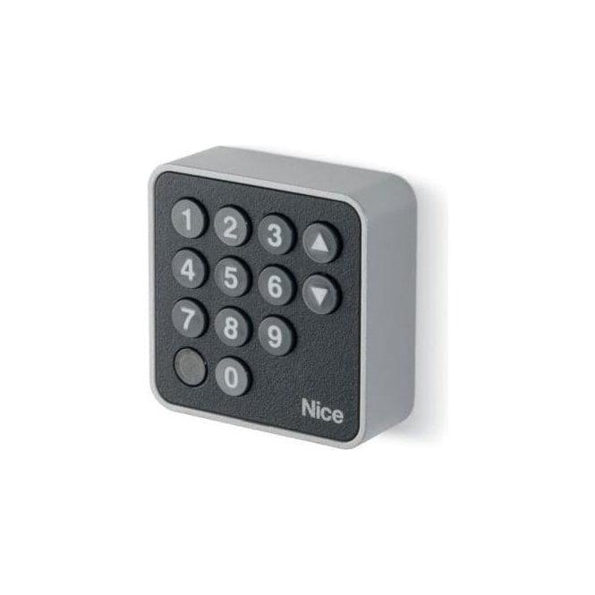 NICE EDSB - 12 Key digital selectors with bluebus technology in a Burglar resistant metal body