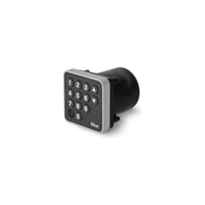 NICE EDSI - Digital selector, 12 keys for recessed mounting, to be combined with morx decoder