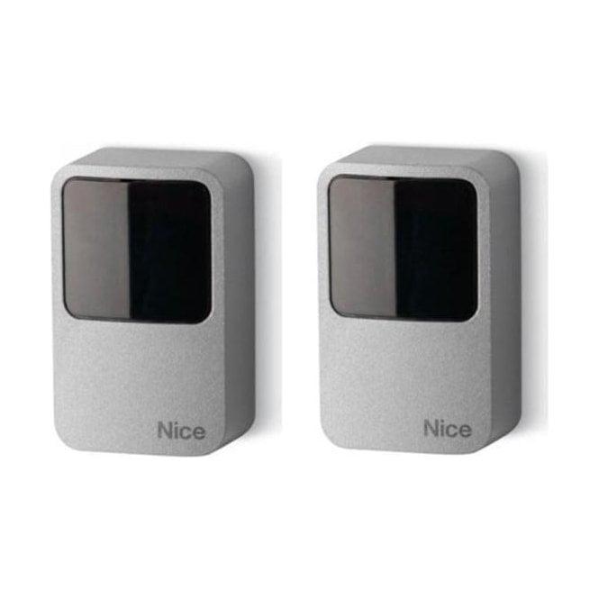 NICE EPMAOB - Pair of outdoor photocells 30 degree positionable burglar resistant metal body
