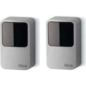 EPMAOB - Pair of outdoor photocells 30 degree positionable burglar resistant metal body