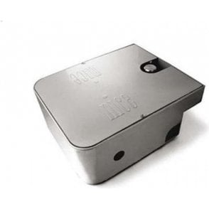 MECX - Foundation box in stainless steel with mechanical stop on opening