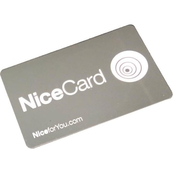 NICE MOCARD Transponder Card - For ERA Proximity Reader with Sequential Coding