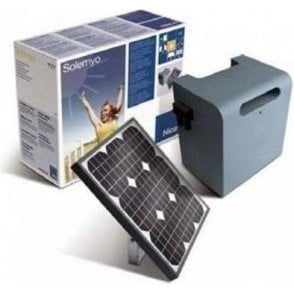 Solemyo SYKCE Solar Power Kit - SYP Photovoltaic Panel and PSY24 Battery