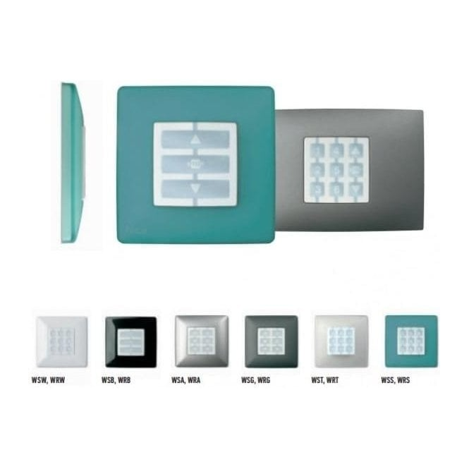 NICE Niceway OPLA Squared Wall Plate - Variety of Colours