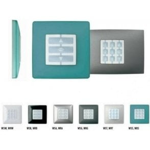 Niceway OPLA Squared Wall Plate - Variety of Colours