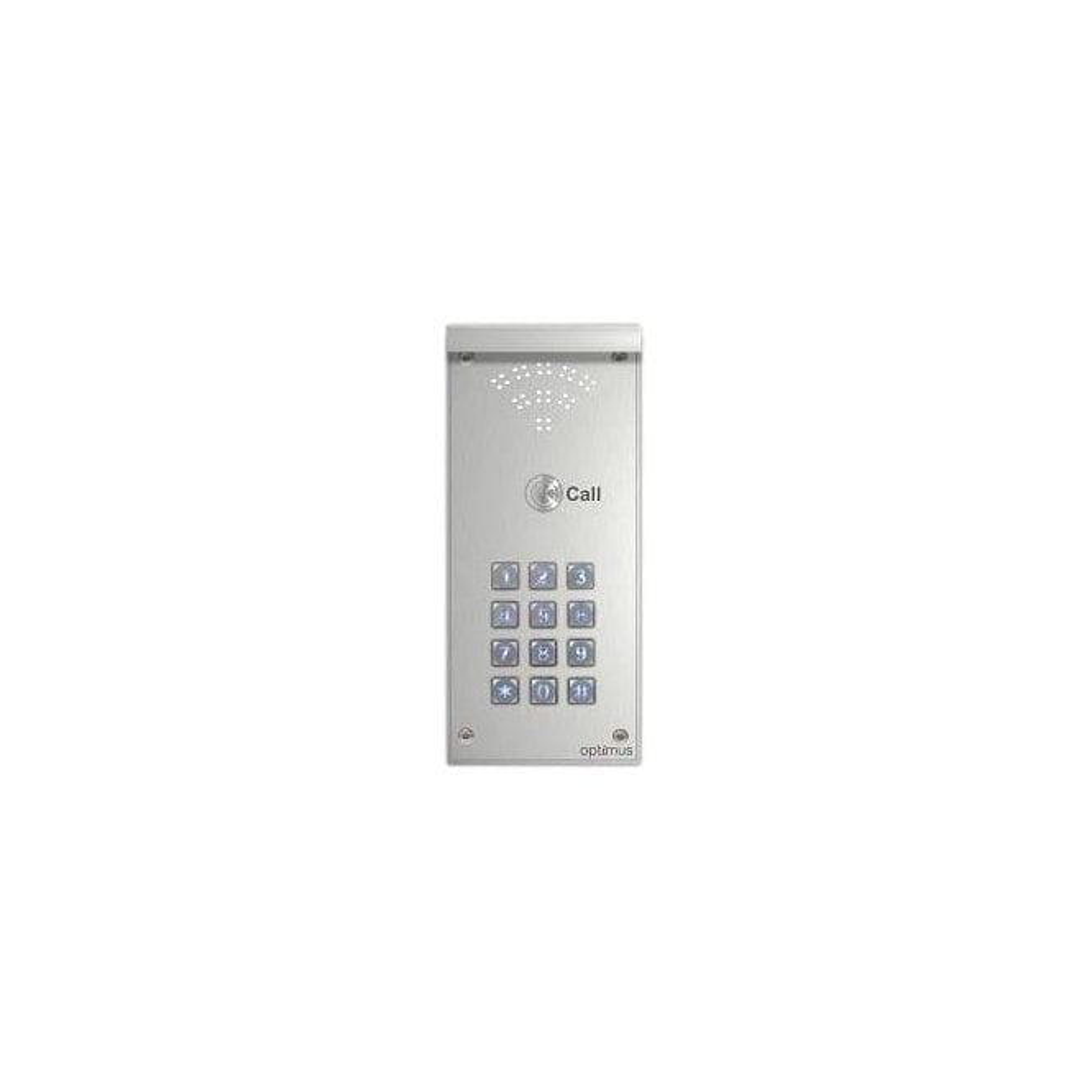 Telguard Optimus Door Entry by Telguard - Single Call Button and Illuminated Keypad