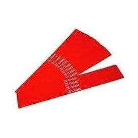 package of 20x red adhesive reflecting strips