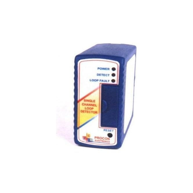 PROCON Electronics LD100 Induction Loop Controller and base 230v single channel boxed loop detector
